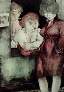 Jeanne Mammen, Zimmer frei (Free Rooms), 1928