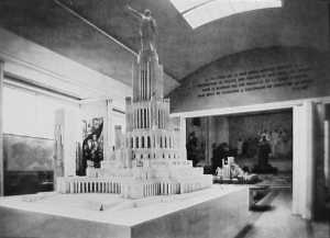 Model.Palace of Soviets1937 USSR