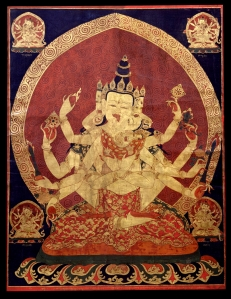 17th_c.Central_Tibeten_thanka_Guhyasamaja_Akshobhyavajra