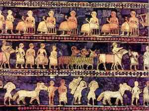 2500BC_Sumerian-plaque.Mesopotamia