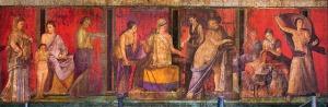 Dionysiac Frieze-Villa.Mysteries-Pompeii60-50BC