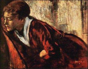 edgar.degas.melancholy.1874