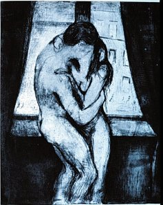 EdvardMunch-The-Kiss1902