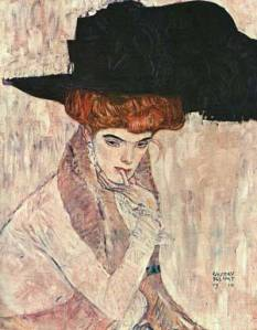 g.klimtThe_Black_Feather_Hat1910