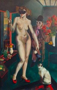 H.L.Katz, Miss Mary - H.L.Katz / Miss Mary / Paint./ 1926 - H.L.Katz / Miss Mary / Peint./ 1926