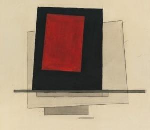 Ilya Chashnik -Suprematist Composition1921