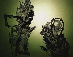 indonesian balinese-shadowPuppet.Wayang