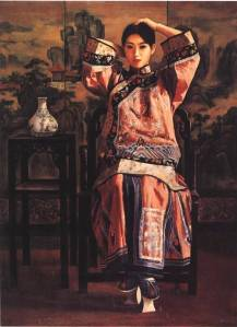 Li Feng Di.Lady_from_Qing_Dynasty