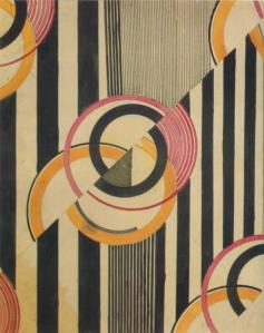 Liubov Popova, textile design1924