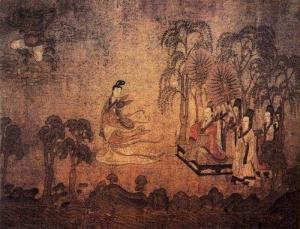 loRiver.Gu Kaizhi -Jin Dynasty