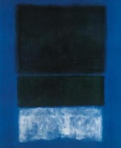 MarkRothko-White.Greens-in-Blue1957