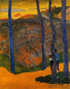 Paul-Gauguin-Blue-Trees1888
