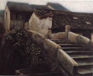 Xian Pei Wang.Rain_in_JiangNan