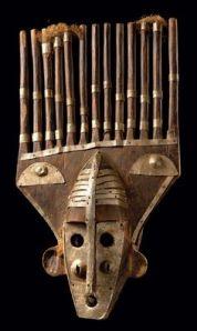 african mask.malinke.Mali