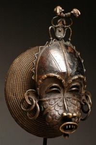 Cimier-mask Tikar people.Cameroon.