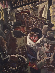 George Grosz- Berlin Street