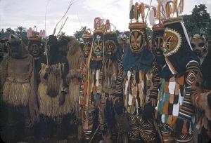 Igbo mask.dancers- Onwa Creator