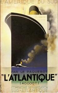 L'Atlantique- Adolphe Mouron Cassandre. Ukranian