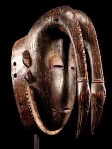 Tribal.Mask LIGBI-Cote d'Ivoire