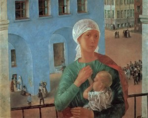 Year1918.Petrograd.KuzmaPetrov-Vodkin(1878-1939)