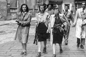 anti-fascist Partito d'Azione. liberation of Milan