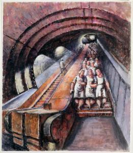 Escalator Underground Factory1944