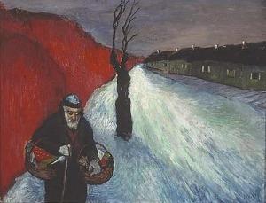 Marianne von Werefkin, The Lonely Path1910