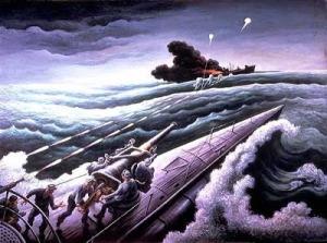 navy.Thomas Hart Benton, 1941-1943