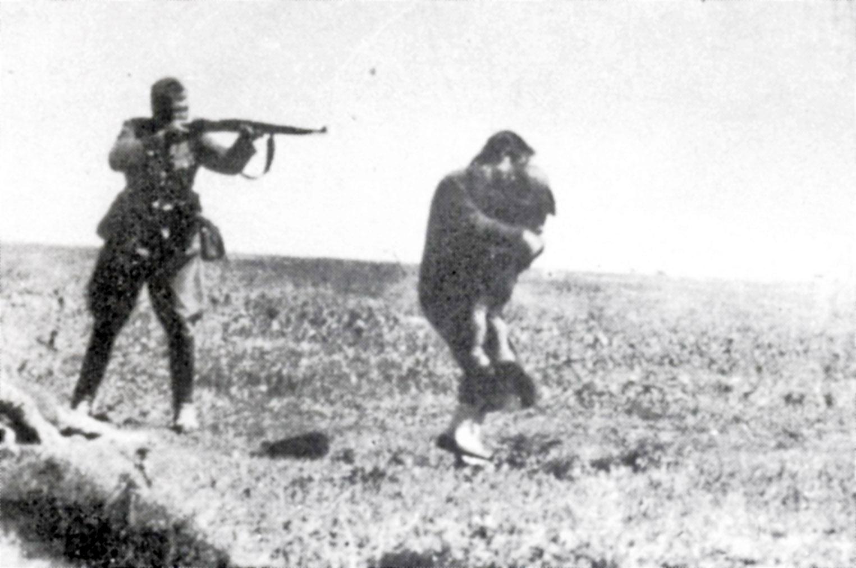 Nazis Slaughter border=