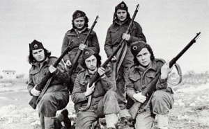 anti-fascism.Yugoslavian partisans