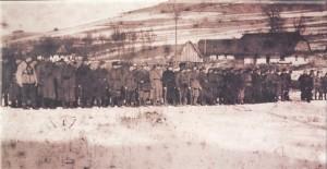 Burlaky company- Ukrainian Insurgent Army (Peremyshl region, winter 1946)