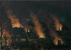 Fire Blitz- Bath1942-Wilfred Haines