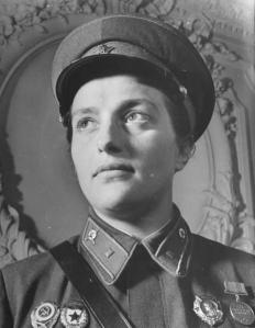 Lieutenant Pavlichenko.USSR.WWII