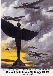 Nazi poster -Fliegenkrops 1937