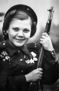 Nina Lobkovskaya.USSR.WWII