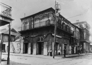 Old-Absinthe House- Bourbon Street, New Orleans1903