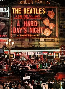 premiere.The Beatles.London Pavilion1964