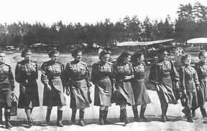 soviet. night-witches. women 588th Night Bomber Regiment