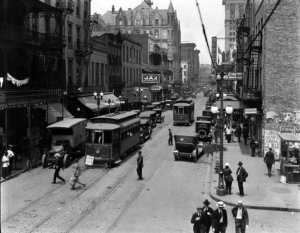 St. Charles Street, New Orleans1920.