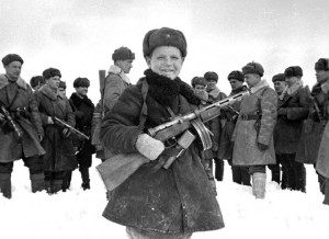 Vova Egorov, 15 Year Old -Red Army. WWII, April 1942.