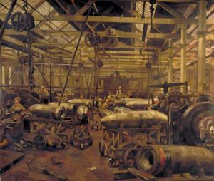 A Shell Forge -anna airy WWi