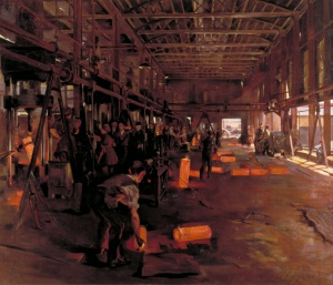 anna airy- Shell_Forge_National_Projectile_Factory-London1918