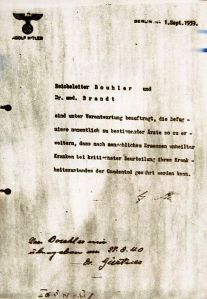 nazis.Aktion T4.1939