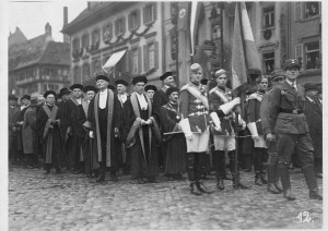 Rektor.Heidegger.others.NaziGermany.Freiburg1933
