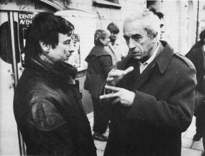 Andrei Tarkovsky with Michelangelo Antonioni