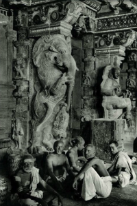 Brahmins Great Temple Madurai Tamil Nadu India1928