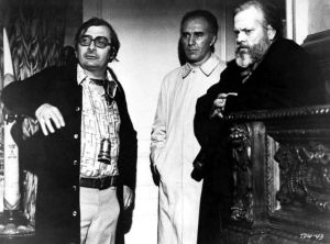Claude Chabrol and Orson Welles
