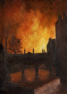 Fire Blitz on Bath1942- Wilfred Haines