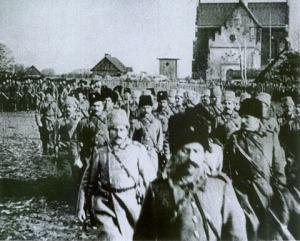 Denikin's army in Kiev