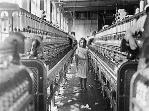 girl factory labour